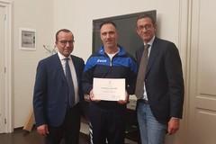 Mask Trani, Bottaro e Mennea consegnano attestati di merito agli atleti vincitori a Massa Carrara