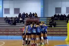 Adriatica Volley Trani inarrestabile: battuta 3-1 la Mesagne Volley