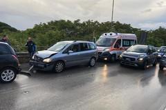 Maxi tamponamento sul ponte di via Istria, coinvolte quattro automobili