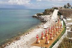 A Trani una nuova spiaggia libera con servizi: ultimati i lavori al Mongelli