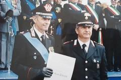 Il comandante Sergio Tedeschi va in pensione: 45 anni nell'Arma