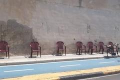 Amet, quelle sedie sotto il sole sono un esperimento?