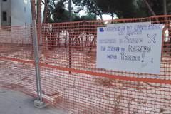 Pinetina di via Andria in stato di degrado e lavori fantasma