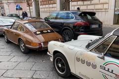 Eleganza e lusso a Trani: il marchio Porsche domina corso Vittorio Emanuele