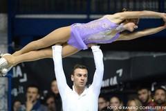 Skating Trani: Raffaele Renda e Sara Cervellini sono i nuovi campioni italiani