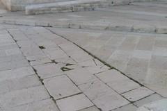 Centro storico e pavimentazione: ancora problemi