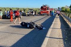 Grave incidente sulla Trani-Corato, in due precipitano dal ponte