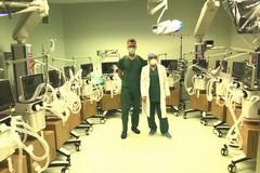 """32 ventilatori per l'ospedale """"Vittorio Emanuele II"""" di Bisceglie"""