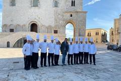 La Nazionale Italiana Cuochi sceglie Trani e la Cattedrale per le sue foto ufficiali