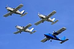 Attraverserà anche il cielo di Trani, il campionato italiano di rally di volo a motore