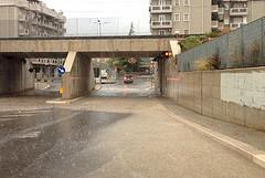 Allerta meteo, ripulite le caditoie di via Martiri di Palermo