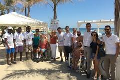 Spiaggia di Colonna, si chiude il progetto di assistenza ai disabili