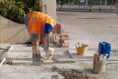 Barriere architettoniche: in corso lavori per la realizzazione di alcune rampe