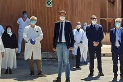 Villa Dragonetti, i complimenti del sindaco a tutto il personale della struttura