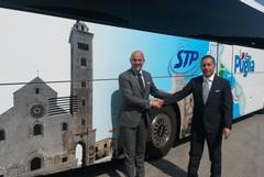 Stp, approvato il bilancio e presentato il nuovo bus turistico