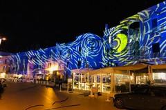 Il Porto di Trani in stile Van Gogh, le proiezioni fino al 30 aprile