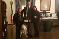 Igor, premiato il primo eroe a quattro zampe della città di Trani