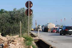 Strada Andria-Trani, lavori a rilento: alcuni proprietari non cedono