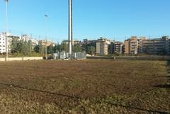 Bonificato il campetto di calcio di via Falcone
