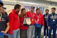 Corrado Capece Minutolo nell'equipaggio vincitore del Titolo Italiano Liv
