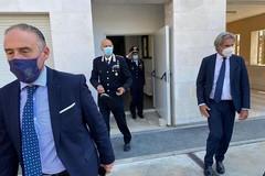 Il Prefetto in visita alla Sala Operativa del Comando Provinciale dei Carabinieri di Trani