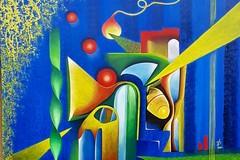 Arte e caffè: esposizione di 40 dipinti in corso Alcide De Gasperi