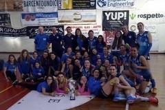 Adriatica Trani vice campionessa di Coppa Puglia