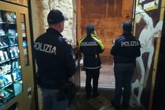 Continuano i controlli della Polizia locale e di Stato nei locali della movida tranese: tre sanzioni