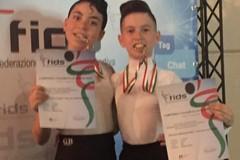 Trani, Giacomo Napoletano e Francesca Di Cugno vincitori del Campionato italiano di danza latina