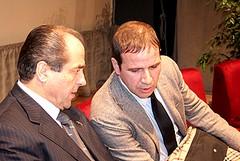 Di Pietro a De Feudis: «Il commissariamento non è contro di te»