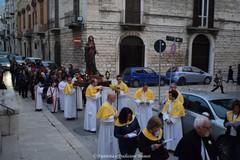 A Trani la via Crucis delle confraternite San Michele Arcangelo e San Giacomo Apostolo