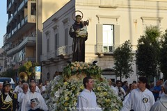 Festa in onore di Sant'Antonio: dopo la messa la processione dal santuario a lui dedicato