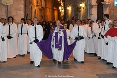 La via Crucis itinerante dell'Arciconfraternita della Beata Vergine Addolorata