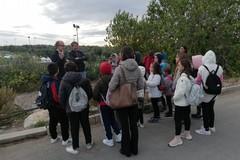 Gli studenti della Beltrani in visita alla discarica e l'isola ecologica di Trani