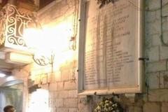 Trani ricorda i cittadini liberali uccisi il 25 marzo del 1799