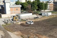 Campo sportivo Bovio, ripresi i lavori per il rifacimento del manto erboso