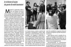 """La tranese Carla Anna Penza vincitrice del progetto giornalistico promosso da """"In Comunione"""""""
