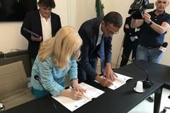 Dieci patti per la sicurezza nella Bat, ieri le firme in Prefettura