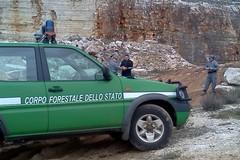 Cava abusiva a Minervino, quattro tranesi nei guai