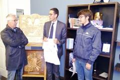 Polisportiva, Boccaforno premiato dal sindaco