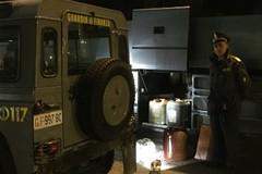 Autobus tranese fermato sulla 16 bis, sequestrati oltre 500 litri di gasolio