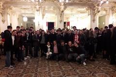 """Studenti del Vecchi al Teatro Petruzzelli per la rappresentazione """"Andrea Chènier"""" di Umbero Giordano"""