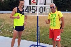 Atletica, Francesco Bove campione regionale di salto con l'asta