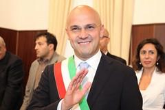 Proclamazione di Gigi Riserbato sindaco di Trani