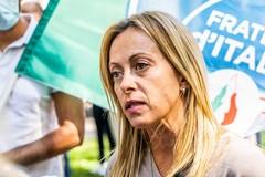 La leader di Fratelli d'Italia Giorgia Meloni domani a Trani