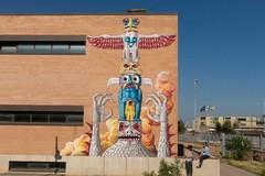 "Street art, i tranesi ""Gods in Love"" colorano Cerignola"