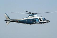 Donna tranese dispersa ritrovata da un elicottero della Polizia di Stato