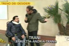 «Voglio prendere il treno». Il desiderio di Donato su Canale 5