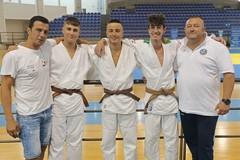 Tre neo cinture nere per la New Accademy Judo Trani