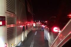 Incidente sulla strada statale 16bis, due feriti lievi